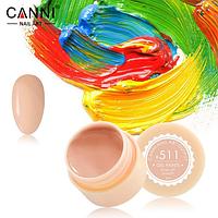 Гель-краска Canni №511 пастельно-оранжевая, 5 мл