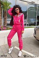 Женский спортивный костюм арт 36724 с 42 по 52 размер (бн)