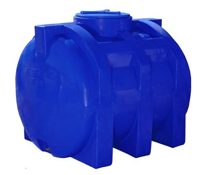 Емкость 750 литров бак, бочка пищевая двухслойная горизонтальная 700 800 RGД
