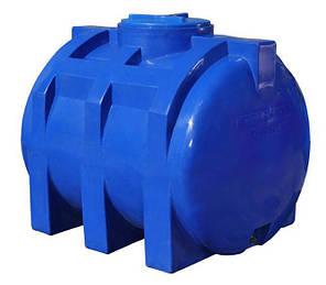 Емкость 750 литров бак, бочка пищевая двухслойная горизонтальная 700 800 RGД, фото 2