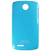 Чехол SGP Colored Plastic для Lenovo A690 Blue