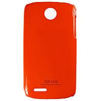 Чехол SGP Colored Plastic для Lenovo A690 Red