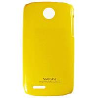 Чехол SGP Colored Plastic для Lenovo A690 Yellow