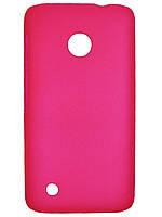 Чехол Colored Plastic для Nokia Lumia 530 Rose