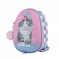 Рюкзак дитячий 1 Вересня Keit Kimberlin Рожевий з блакитним (558545), фото 2