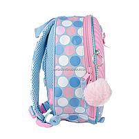 Рюкзак дитячий 1 Вересня Keit Kimberlin Рожевий з блакитним (558545), фото 3
