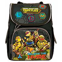 Рюкзак шкільний каркасний 1 Вересня Tmnt Зелений (556157), фото 2