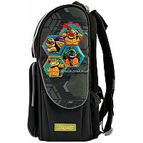 Рюкзак шкільний каркасний 1 Вересня Tmnt Зелений (556157), фото 3
