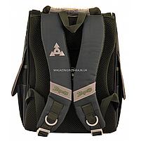 Рюкзак шкільний каркасний 1 Вересня Tmnt Зелений (556157), фото 5