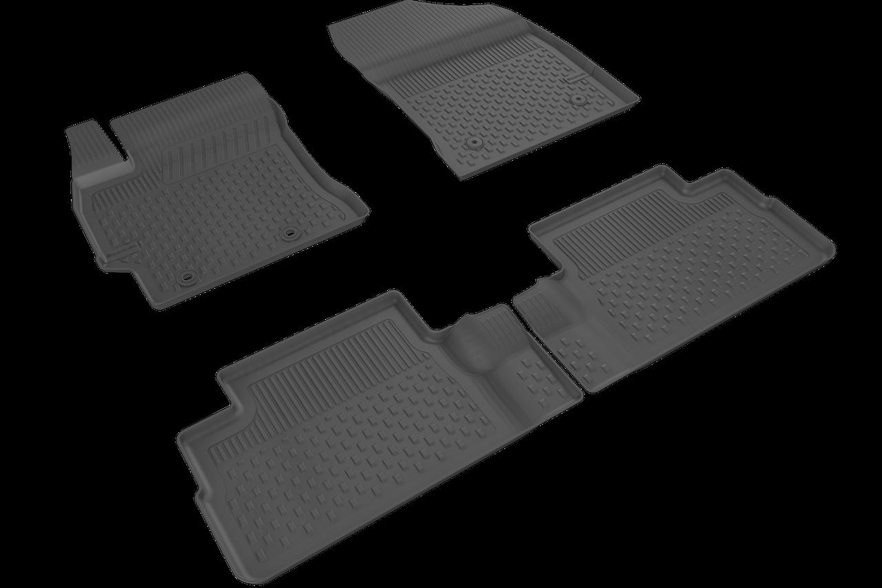 Автомобильные коврики в салон SAHLER 4D для TOYOTA Auris 2013-2020 TO-02