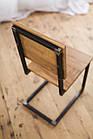 Дерев'яний стілець для бару від виробника, фото 3