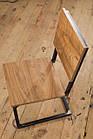 Дерев'яний стілець для бару від виробника, фото 4