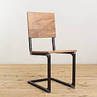 Дерев'яний стілець для бару від виробника, фото 6