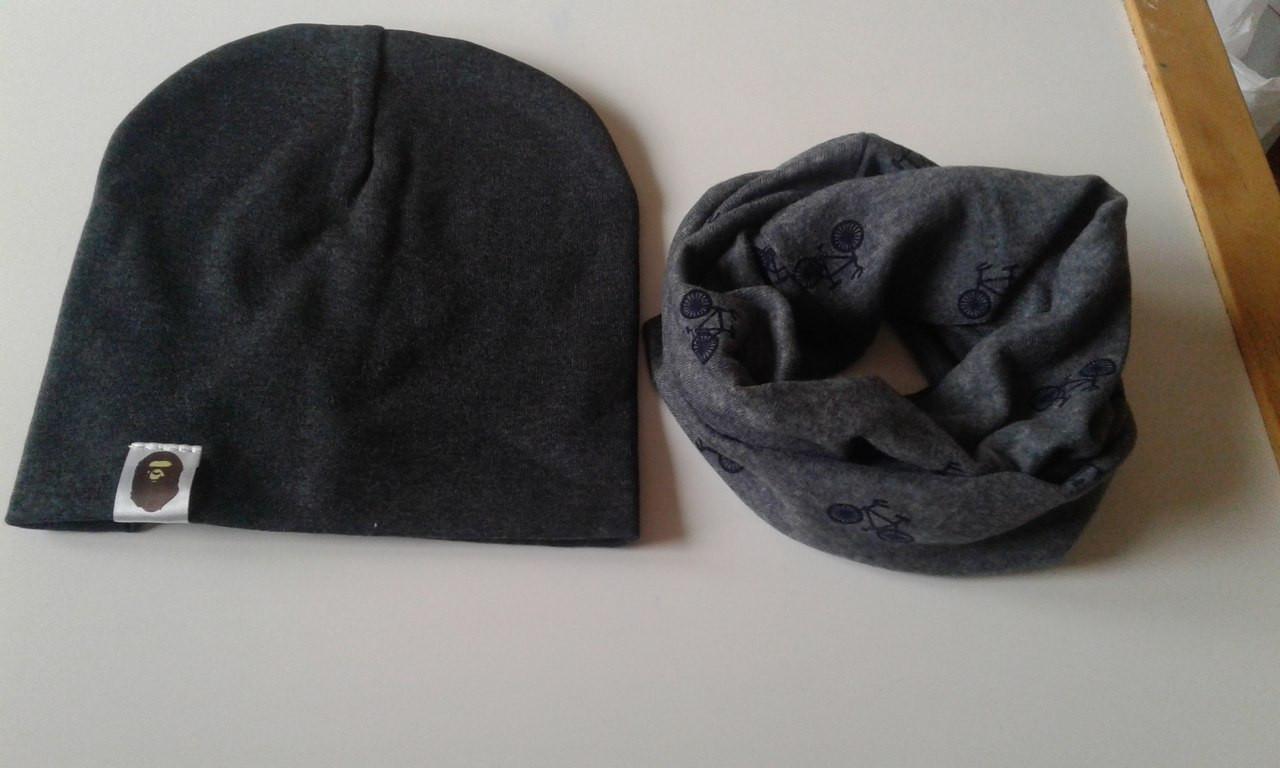 Наборчик шапка+хомут