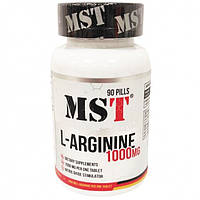 MST Sport Nutrition, Аргинин L-Arginine 1000 Mg, 90 таблеток