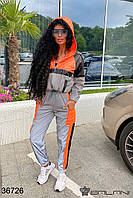 Женский спортивный костюм арт 36726 с 42 по 52 размер (бн)