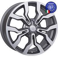 WSP Italy AUDI W565 MEDEA R19 W8,5 PCD5X112 ET32 DIA66,6 MATT GUN METAL POLISHED