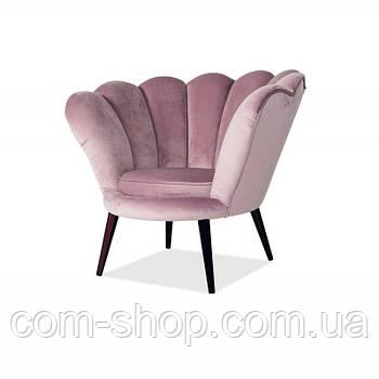 Relax кресло Кресло Magnolia Velvet Античный Розовый 95147, цвет - античная роза