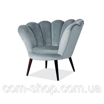 Relax кресло Кресло Magnolia Velvet Серый 94919, цвет - серый