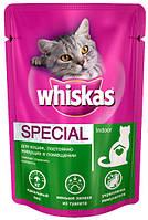 Консерва для домашних кошек Whiskas Special Indoor