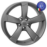 WSP Italy AUDI W567 GIASONE R17 W7,5 PCD5X112 ET45 DIA66,6 MATT GUN METAL