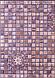 Листовая панель ПВХ на стену Регул, Мозаика (Медальон Фиолетовый), фото 2