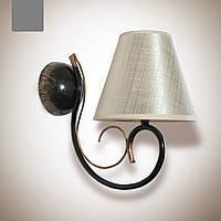 Бра металлическое 1 ламповое