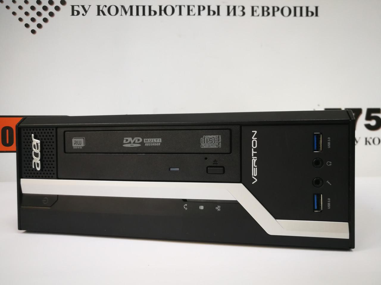 Компьютер Acer X4630G SFF, Intel Celeron G1820 2.7GHz, RAM 4ГБ, HDD 250ГБ/SSD 120ГБ