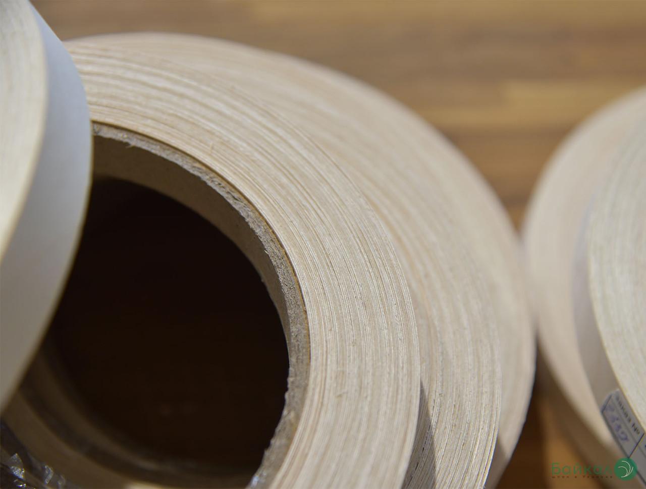 Кромка мебельная Береза (натуральная) - с клеем
