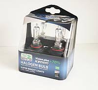 Галогенная лампа EuroAuto 12V 55W HB4 P22d VISION PLUS +70%, комплект