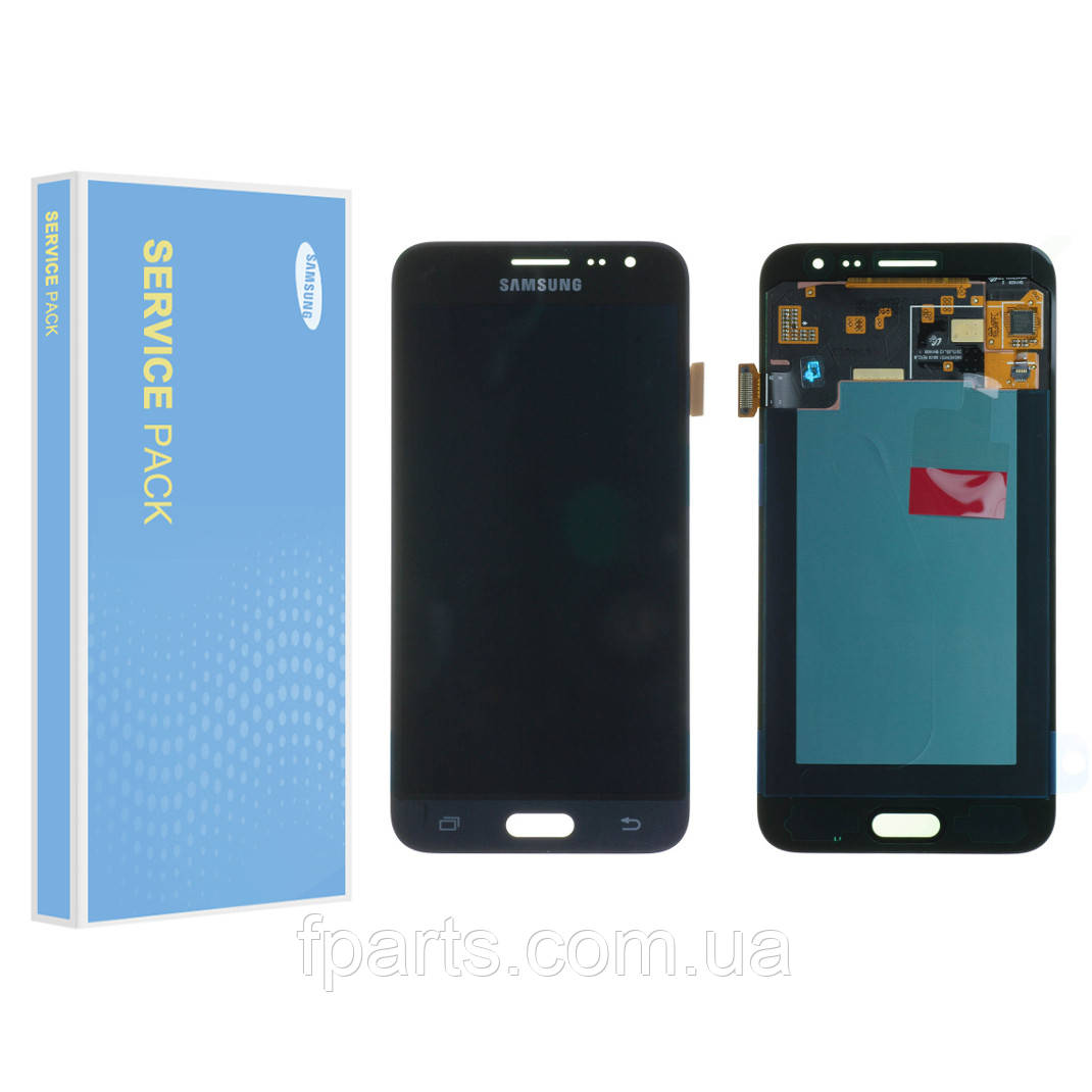 Дисплей Samsung J320 Galaxy J3 2016 з тачскріном, Black (Service Pack Original)