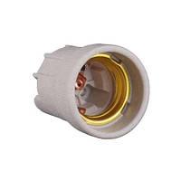 Патрон керамічний Е27 без кріплення, мідний контакт (Без маркування) E.NEXT