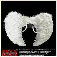 Белые крылья Ангела карнавальные