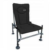 Кресло карповое фидерное Elektrostatyk F2 Black, фото 1