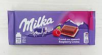 Шоколад Milka Raspberry Creme 100г (Швейцария)