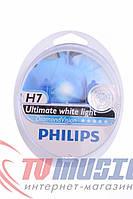 Комплект галогенных ламп Philips H7 Diamond Vision 12V 55W (12972DVS2)