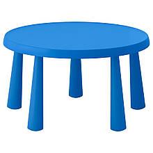 IKEA MAMMUT (903.651.80) Дитячий стіл, синій