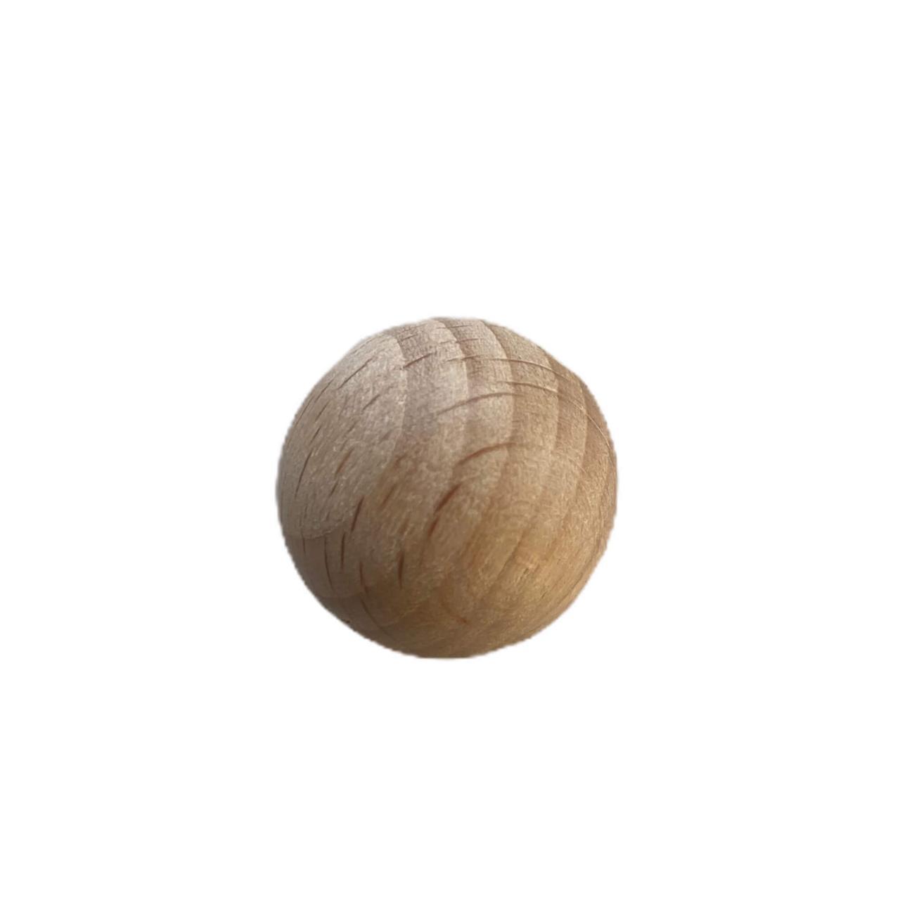 Бук круглая 18мм (деревянные бусины)