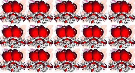 Слайдер дизайн для нігтів сердечка