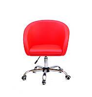 Кресло офисное на колесах ANDY CH- OFFICE , красный
