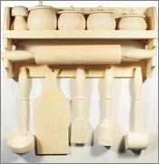 Молоток кухонный деревянный