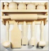 Молоток кухонный деревянный, фото 1