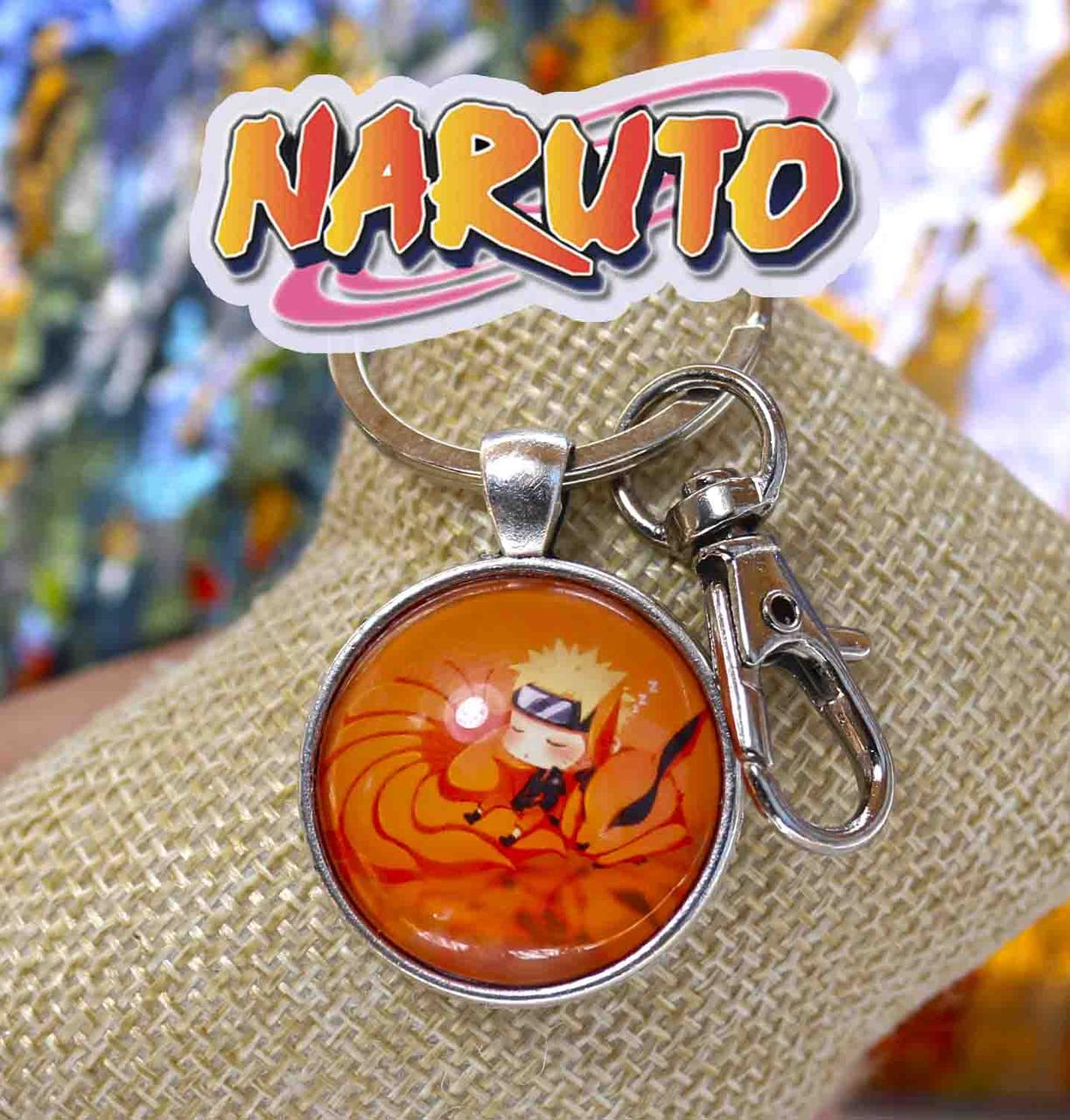 Брелок Наруто и лис Наруто / Naruto