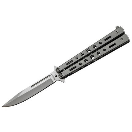 Нож-бабочка 15084 R (Silver), фото 2