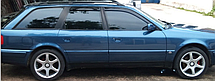 Дефлекторы окон Audi 100 Avant C4 1990-1994