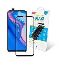 Захисне скло Huawei P Smart Z Full Glue (чорне) GlobalShield