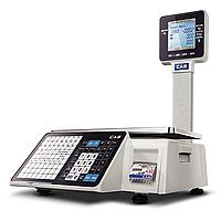 Весы с печатью этикеток CAS CL3500-P