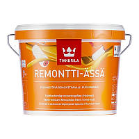 Моющаяся краска без запаха полуматовая Ремонтти Ясся ( Remontti Assa Tikkurila) 2,7л