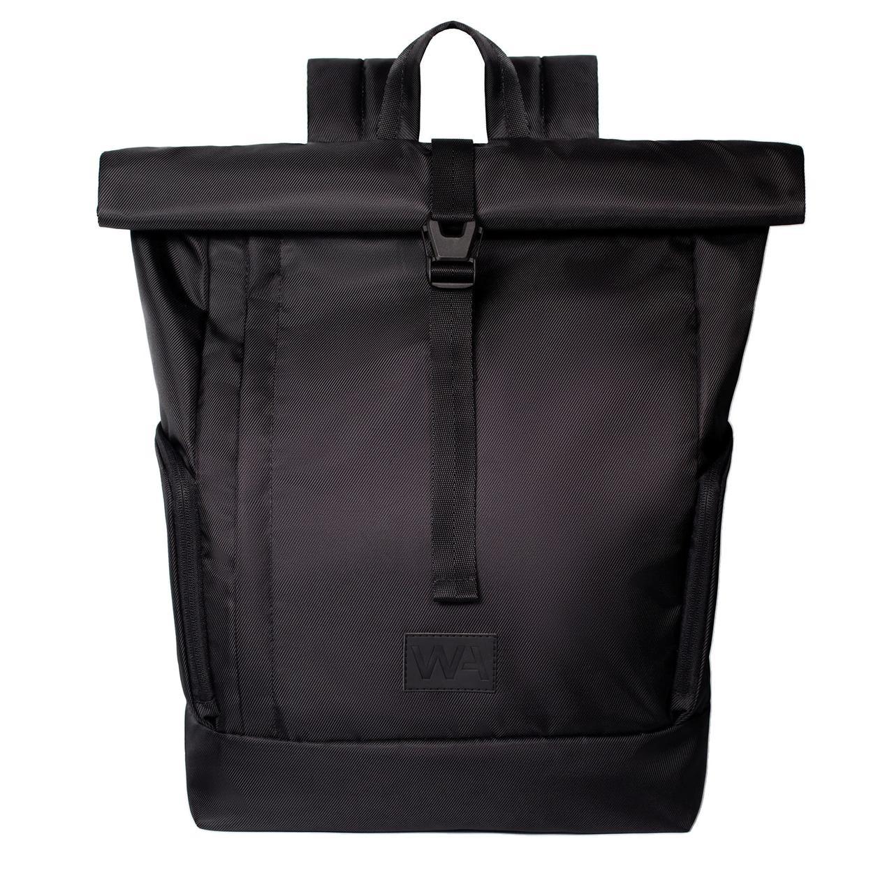 Городской рюкзак для ноутбука Wasco Kane Roll Черный