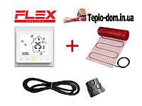 Тонкий мат для обогрева пола FLEX EHM - 175 /  1м  /  0.5м2  /  87.5 Вт с WI-FI thermostat TWE02